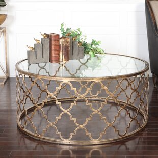 Quatrefoil Coffee Table by Uttermost