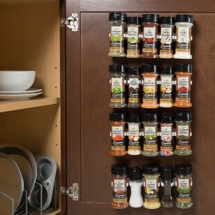 Organizer 20 Jar Spice Jar and Rack Set
