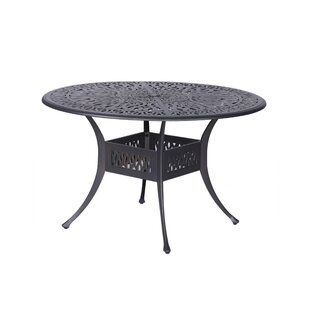 Fleur De Lis Living Bean Round Dining Table