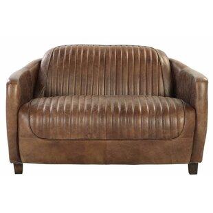 Regina Leather Loveseat