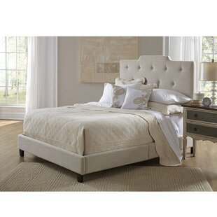 Hibbs Queen Upholstered Panel Bed by Charlton Home