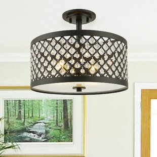 Menomonie 3-Light Semi Flush Mount by House of Hampton