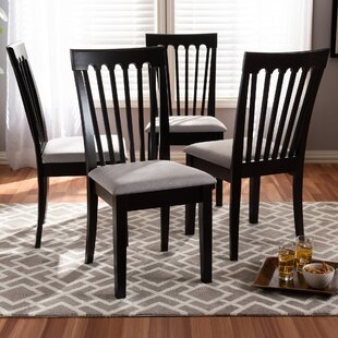 Bottom Solid Wood Dining Chair (Set of 4)