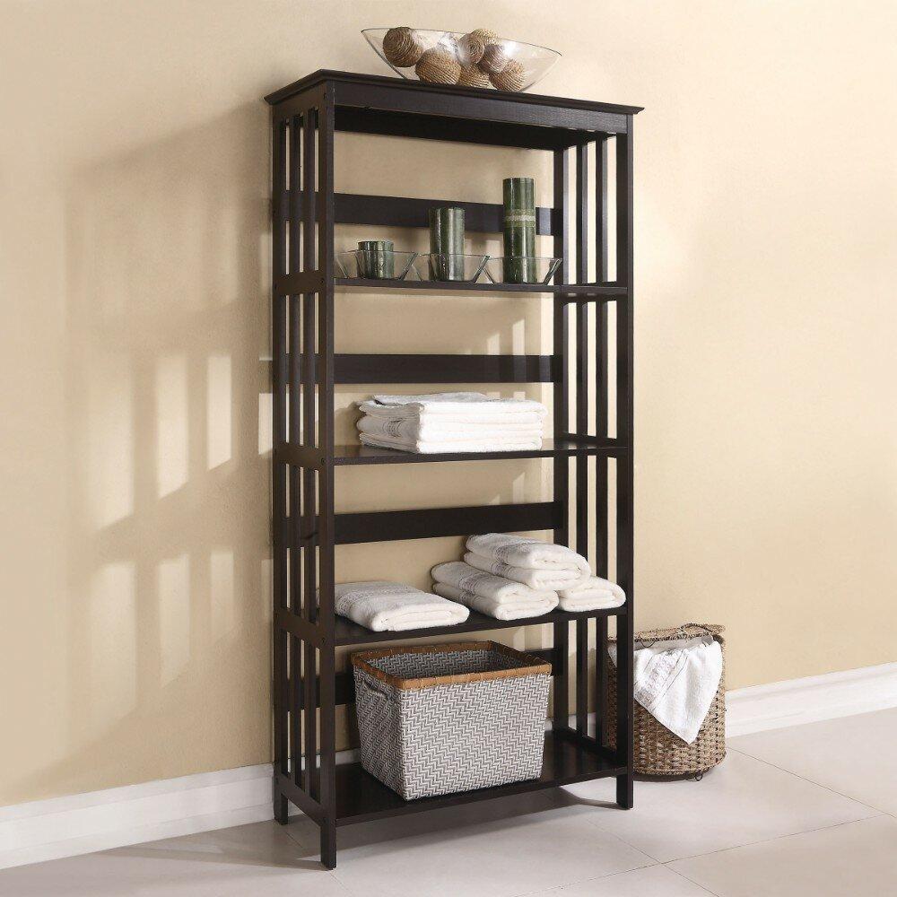 "Crediton Wooden 7"" H x 7"" W Shelf Rack"