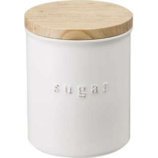 Sugar 1.08 qt. Ceramic Kitchen Canister