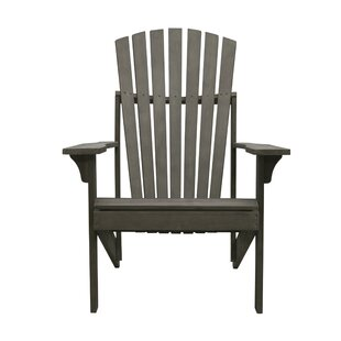Densmore Patio Solid Wood Adirondack Chair