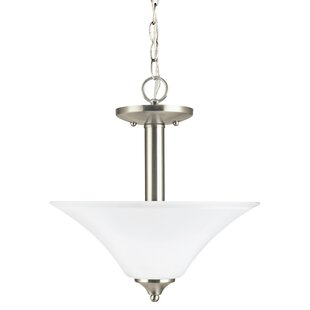 Darby Home Co Buren 2-Light Bowl Pendant