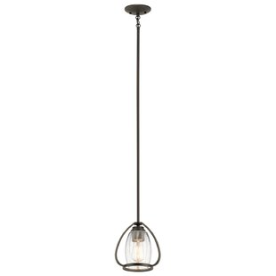 17 Stories Covey 1-Light Geometric Pendant