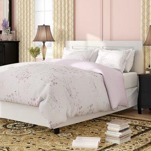 Vernie Soft Floral Reversible Duvet Cover Set
