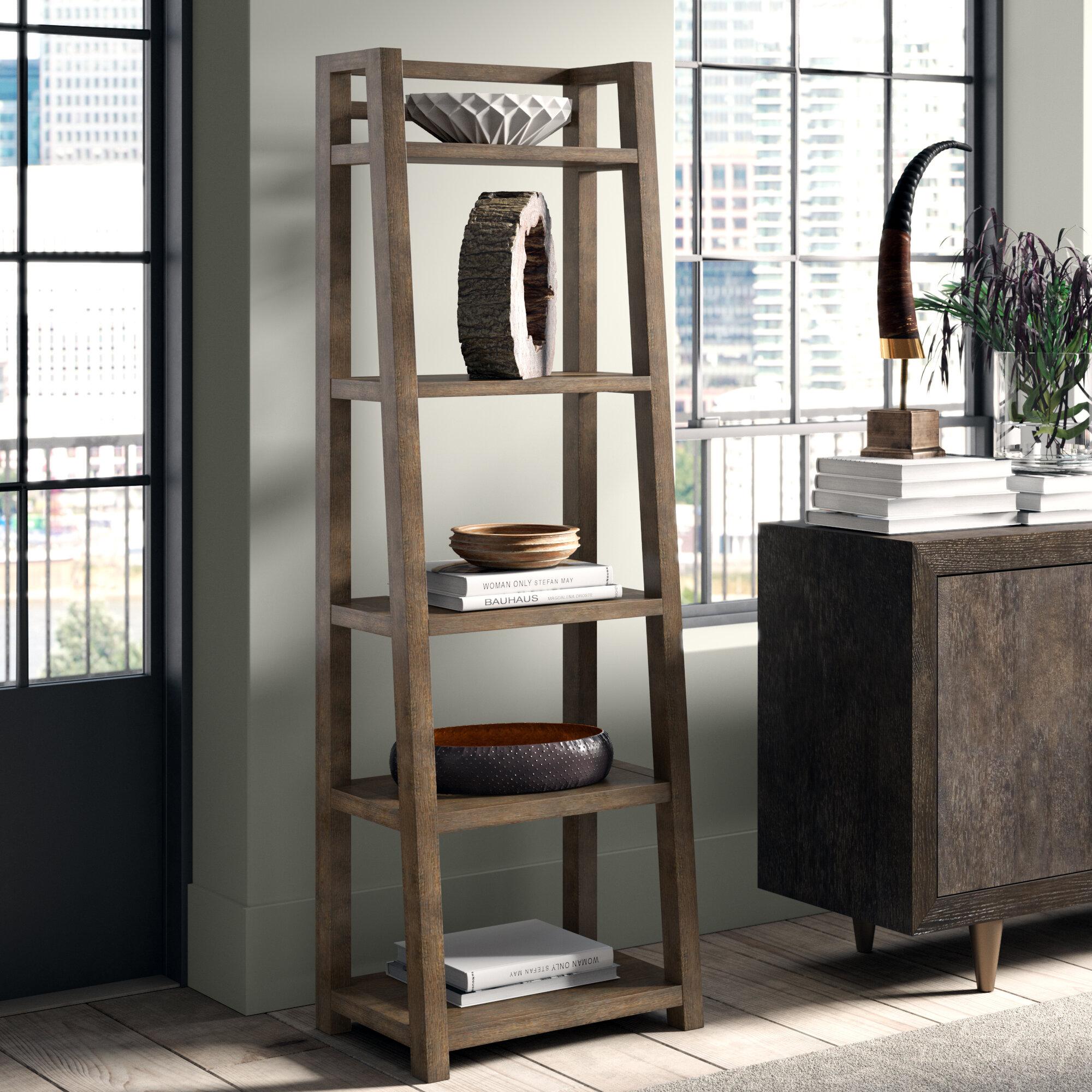 Rustic Bookcases Bookshelves Wayfair