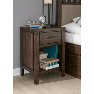 Affordable Maven 1 Drawer Nightstand by Gracie Oaks Reviews (2019) & Buyer's Guide