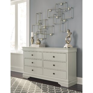 Charlton Home Linehan 6 Drawer Dresser