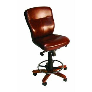Leather Drafting Chair