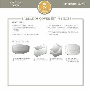 TK Classics Barbados Winter 6 Piece Cover..