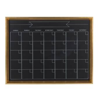 August Grove Tin Arrow Sign Magnetic Wall Mounted Chalkboard Wayfair