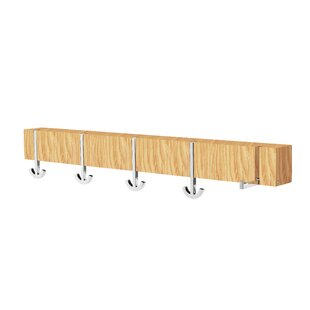 Ancora Cinque Wall Mounted Coat Rack By Pieperconcept