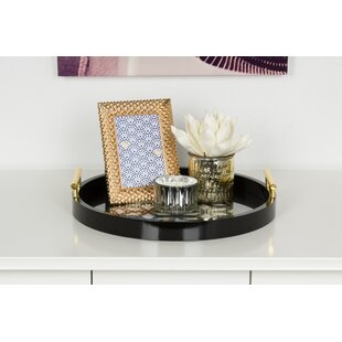Black Round Decorative Trays You Ll Love Wayfair