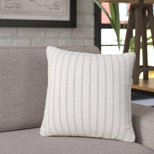 Jonathan Burlap Brick Throw Pillow