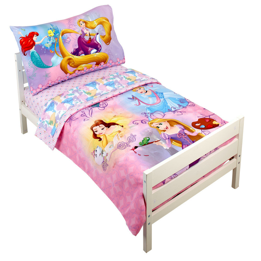 Disney Princess Adventure Rules 4 Piece Toddler Bedding Set Reviews Wayfair