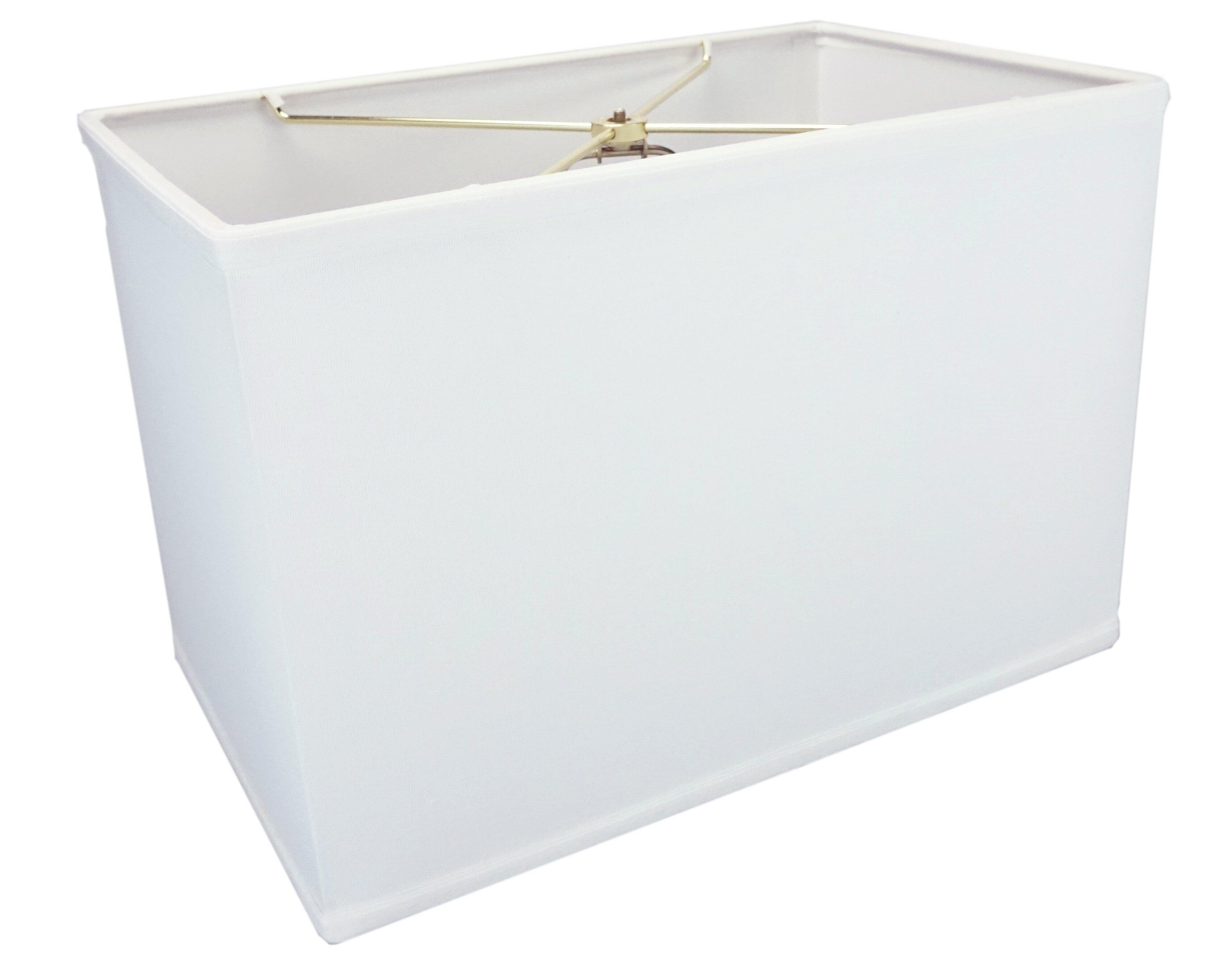 11 H X 10 W Linen Rectangular Lamp Shade Spider Reviews