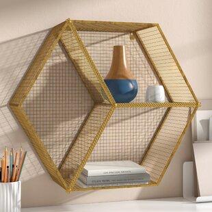 Cleek Hexagon Wall Cubby by Mercury Row