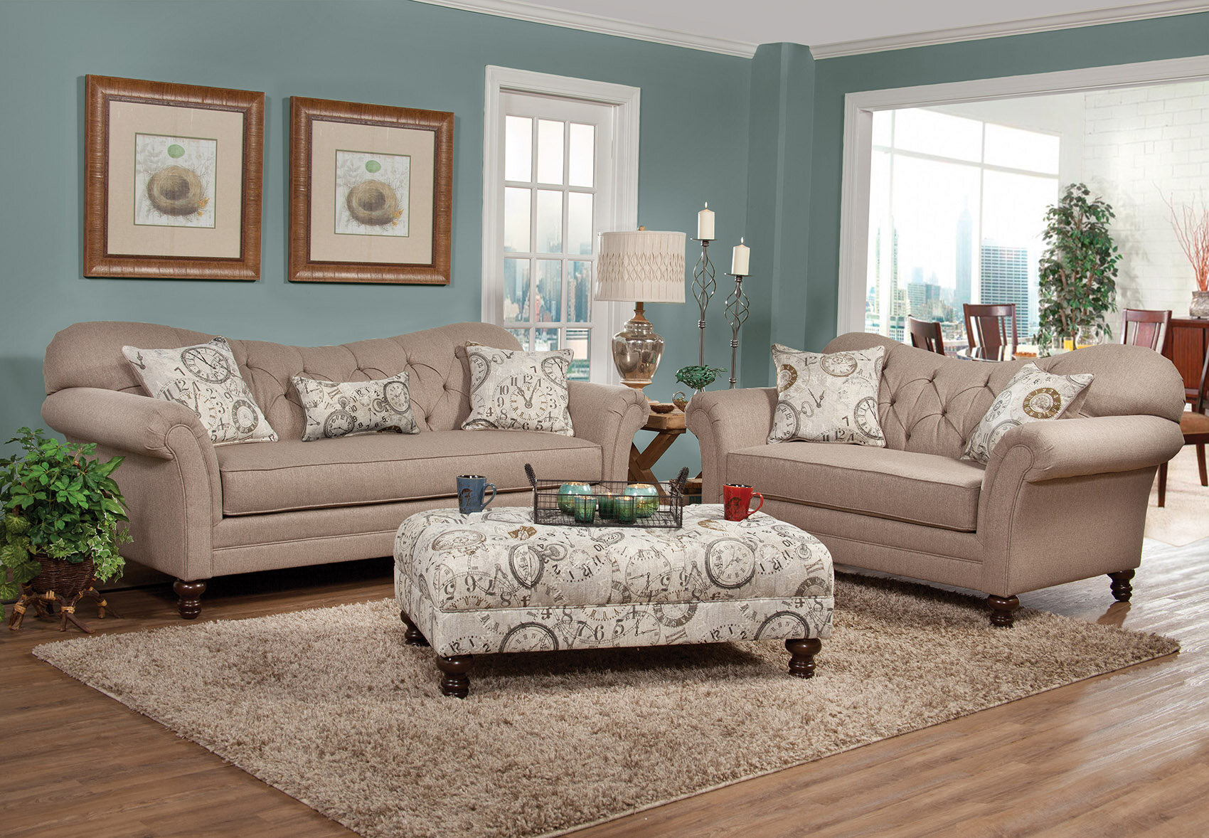 3 Seater Loveseat Cottage Country Living Room Sets You Ll Love In 2021 Wayfair