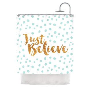 Just Believe by Nick Atkinson Single Shower Curtain