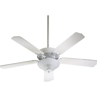 Check Prices 52 Dunrobin Traditional 5-Blade Ceiling Fan By Three Posts