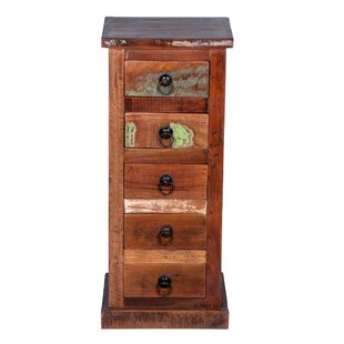 Woodley 5 Drawer Lingerie Chest by World Menagerie