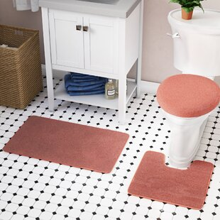Cherrelle 3 Piece Bath Rug Set