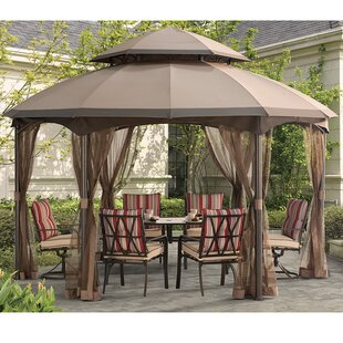 Heritage Gazebo Replacement Canopy by Sunjoy