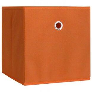 10-Piece Foldable Fabric Storage Basket Set (Set Of 10) By Rebrilliant