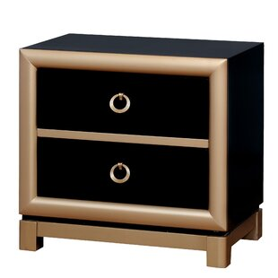 Cobbett 3 Drawer Nightstand