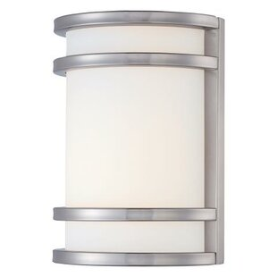 Brayden Studio Murrin 1-Light Outdoor Flush Mount