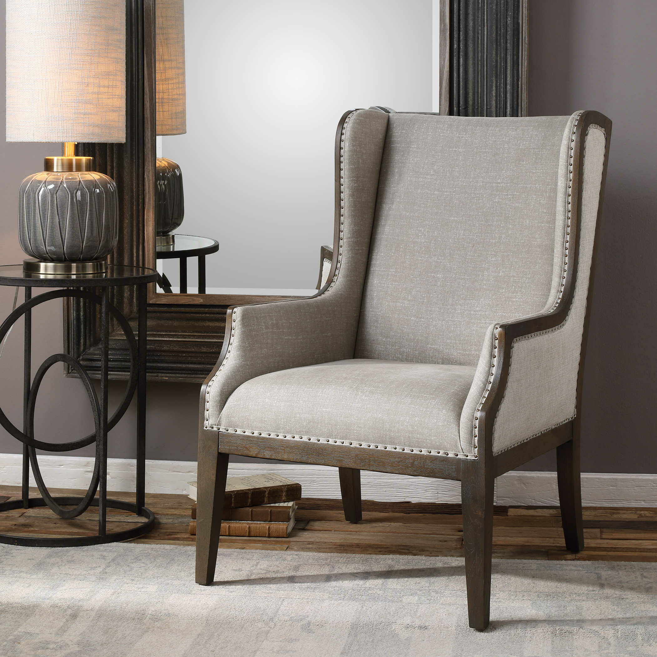 Super Ormond Wingback Chair Gmtry Best Dining Table And Chair Ideas Images Gmtryco