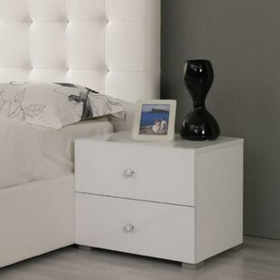 Dart 2 Drawer Nightstand by Orren Ellis