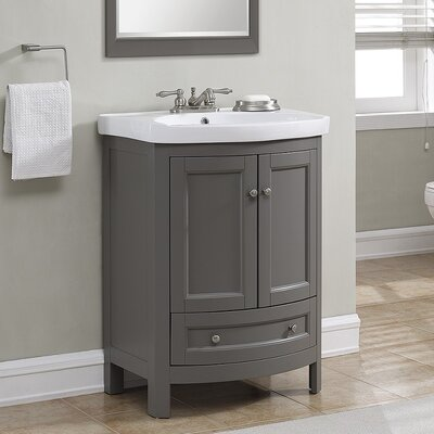 Find The Perfect Gray Single Vanities Wayfair