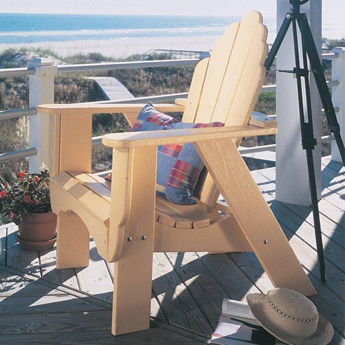 Fanback Wood Adirondack Chair