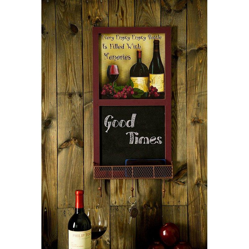 August Grove Stricklin Wall Mounted Chalkboard Reviews Wayfair