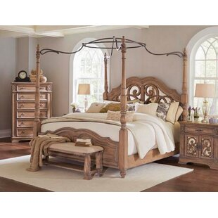August Grove Antonie Canopy Bed