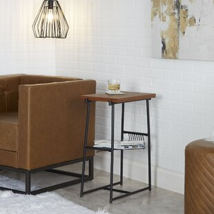 Rentas Industrial End Table wi..