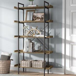 Brianna Standard Bookcase Gracie Oaks
