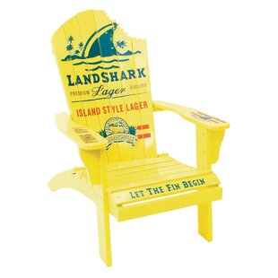 Margaritaville Landshark Solid Wood Adirondack Chair