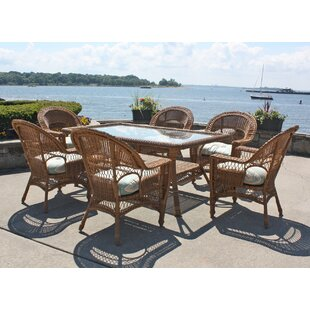 August Grove Camacho 7 Piece Dining Set w..