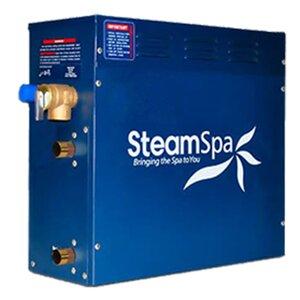 SteamSpa 6 KW QuickStart Steam Bath Generator