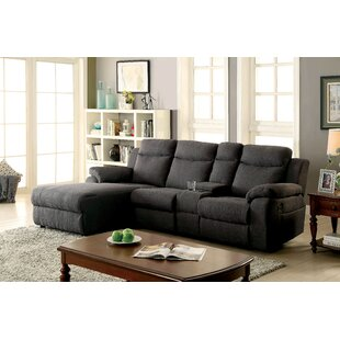 Brambach Transitional Reclining Sectional Red Barrel Studio