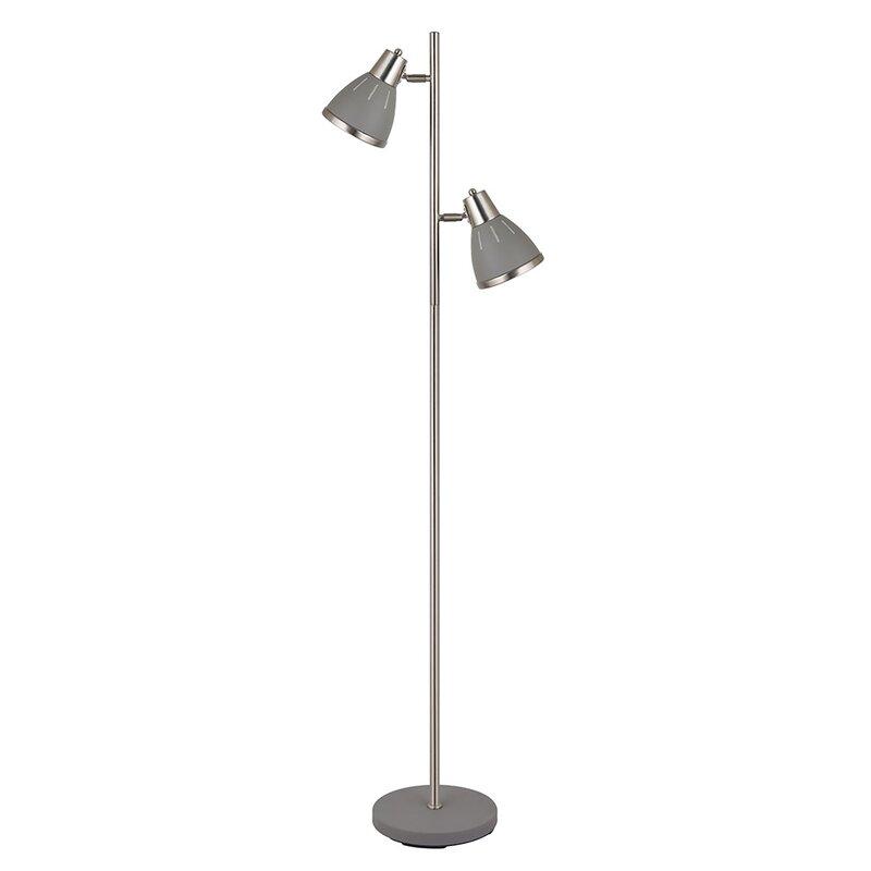 Brambly Cottage Kean 154cm Reading Floor Lamp Wayfair Co Uk