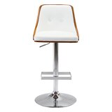 Cinthia Swivel Adjustable Height Bar Stool by Orren Ellis