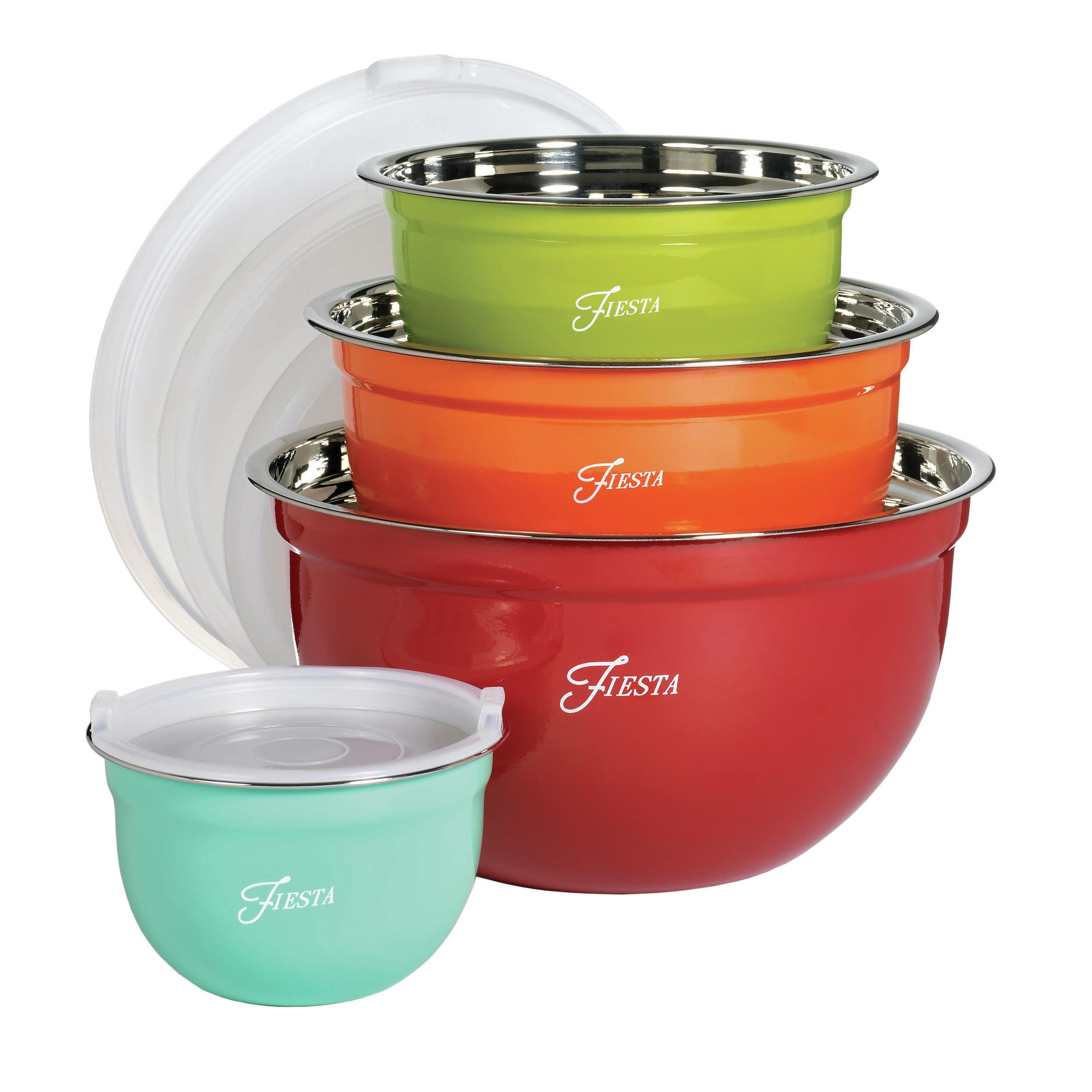 Fiesta 8 Piece Mixing Bowl Set & Reviews | Wayfair