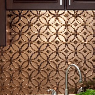 Rings 18 25 X 24 Pvc Backsplash Panel Kit In Oil Rubbed Bronze